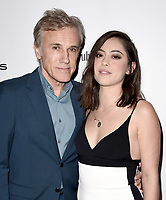 LOS ANGELES - DECEMBER 6: Christoph Waltz and Rosa Salazar attend the 2018 Game Awards at the Microsoft Theater on December 6, 2018 in Los Angeles, California. (Photo by Scott Kirkland/PictureGroup)