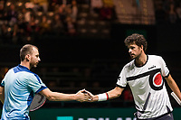 Rotterdam, The Netherlands, 15 Februari 2019, ABNAMRO World Tennis Tournament, Ahoy, quarter finals, doubles, Robin Haase (NED) / Matwe Middelkoop (NED)<br />