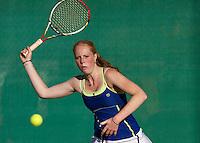12-08-13, Netherlands, Raalte,  TV Ramele, Tennis, NRTK 2013, National RankingTennis Championships 2013,  Maurien Rikkert<br /> <br /> Photo: Henk Koster