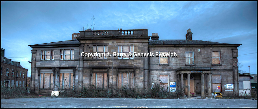 BNPS.co.uk (01202 558833)<br /> Pic: Barry&GenesisEveleigh/BNPS<br /> <br /> Grade II-listed 19th century stone villa Wilderslowe in Derby is open to offers.<br /> <br /> Loving owners are being sought for hundreds of historic but crumbling buildings across Britain in a desperate bid to prevent them from being lost forever.<br /> <br /> A host of long-forgotten properties from all over the country feature in a newly-compiled 'lonely hearts' list of once-great places which have fallen into disrepair.<br /> <br /> The neglected buildings urgently in need of new owners include listed country piles, cottages and farmhouses, churches and chapels, pubs, shops, a former rifle range and even an WWII anti-aircraft supply depot.<br /> <br /> One hundred dilapidated and threatened buildings have been chronicled in a new book called Falling in Love published by campaign group Save Britain's Heritage in the hope of attracting buyers for them.