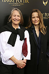 Cherry Jones and Sophie Huber attends the Broadway Opening Day performance of 'Harry Potter and the Cursed Child Parts One and Two' at The Lyric Theatre on April 22, 2018 in New York City.
