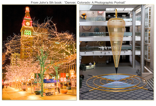 """The 16th Street Mall is well placed to enjoy much of downtown Denver. <br /> From: """"Denver, Colorado: A Photographic Portrait"""" by John Kieffer .  John offers private photo tours in Denver, Boulder and throughout Colorado. Year-round Colorado photo tours."""