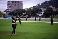 Action from the women's Hallyburton Johnstone Shield one-day cricket match between the Wellington Blaze and Otago Sparks at Basin Reserve in Wellington, New Zealand on Saturday, 17 November 2018. Photo: Dave Lintott / lintottphoto.co.nz