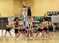 Big Air cheerleaders during the NBL match between the Wellington Saints and Christchurch Cougars at Te Rauparaha Stadium, Porirua, Wellington, New Zealand on Saturday 4 April 2009. Photo: Dave Lintott / lintottphoto.co.nz