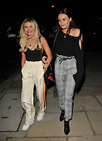 Georgia Toffolo and Emily Blackwell at the Bluebird Cafe launch party, Bluebird Cafe, Television Centre White City, Wood Lane, London, England, UK, on Tuesday 10 April 2018.<br /> CAP/CAN<br /> &copy;CAN/Capital Pictures