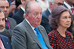 King Juan Carlos I of Spain attends to National Sport Awards 2016 at El Pardo Palace in Madrid , Spain. February 19, 2018. (ALTERPHOTOS/Borja B.Hojas)