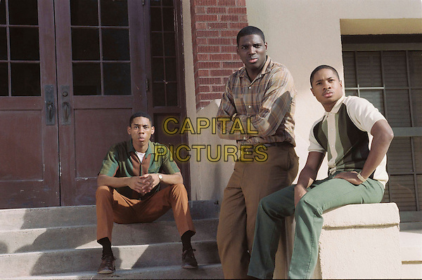 ALPHONSO McAULEY, DAMAINE RADCLIFF & SAM JONES III.in Glory Road.*Editorial Use Only*.www.capitalpictures.com.sales@capitalpictures.com.Supplied by Capital Pictures.