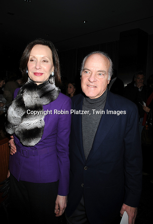 "Dan Rather and wife Jean .at The Special Screening of ""Charlie Wilson's War"" on December 16, 2007 at The Museum of Modern Art in New York. .Robin Platzer, Twin Images"
