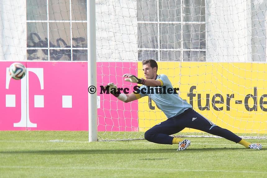 Marius Müller - Testspiel der Deutschen Nationalmannschaft gegen die U20 zur WM-Vorbereitung in St. Martin