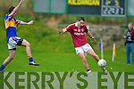 Chris Farrelly  Dromid Pearses v  Kildangan in the Munster Junior Football Final at Moyvane on Sunday