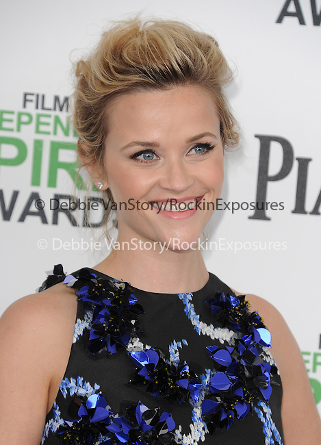 Reese Witherspoon attends The 2014 Film Independent Spirit Awards held at Santa Monica Beach in Santa Monica, California on March 01,2014                                                                               © 2014 Hollywood Press Agency