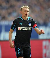 FUSSBALL   1. BUNDESLIGA   SAISON 2012/2013    27. SPIELTAG FC Schalke 04 - TSG 1899 Hoffenheim                       30.03.2013 Andreas Beck (TSG 1899 Hoffenheim)