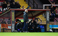 Port Vale manager Neil Aspin watches on from the technical area<br /> <br /> Photographer Chris Vaughan/CameraSport<br /> <br /> The EFL Sky Bet League Two - Lincoln City v Port Vale - Tuesday 1st January 2019 - Sincil Bank - Lincoln<br /> <br /> World Copyright © 2019 CameraSport. All rights reserved. 43 Linden Ave. Countesthorpe. Leicester. England. LE8 5PG - Tel: +44 (0) 116 277 4147 - admin@camerasport.com - www.camerasport.com