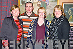 Pictured at the Kilgobnet National School quiz in Kate Kearneys Cottage, Beaufort on Friday night were Catherine Doona, Eamonn Kissane, Margaret O'Connor and Eileen O'Sullivan.