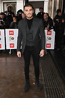 LONDON, UK. March 12, 2019: Josh Cuthbertson arriving for the TRIC Awards 2019 at the Grosvenor House Hotel, London.<br /> Picture: Steve Vas/Featureflash