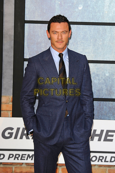 LONDON, ENGLAND - SEPTEMBER 20: Luke Evans attending 'The Girl On The Train' World Premiere at Odeon Cinema, Leicester Square on September 20, 2016 in London, England.<br /> CAP/MAR<br /> &copy;MAR/Capital Pictures