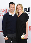 Jimmy Kimmel and Molly McNearney at The Weinstein L.A Premiere of Lee Daniels' The Butler held at The Regal Cinemas L.A. Live Stadium 14 in Los Angeles, California on August 12,2013                                                                   Copyright 2013 Hollywood Press Agency