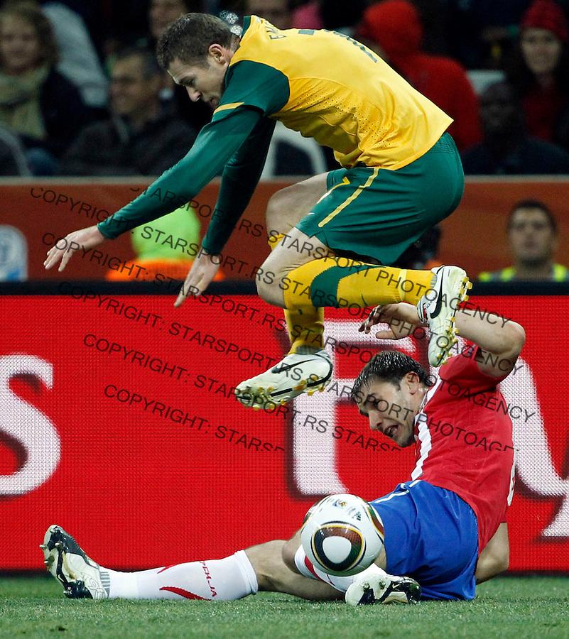 Branislav Ivanovic Soccer Football - 2010 FIFA World Cup - Group D -  Australia v Serbia e2c3d93bdffe3