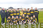 DR Crokes.Ardfert who played in the KOR Football Blitz at Ballyricard Tralee on Saturday .Ardfert who played in the KOR Football Blitz at Ballyricard Tralee on Saturday .KOR: The Kerins O'Rahilly's Young Footballer who played in the Football Blitz at Ballyricard GAA Grounds on Saturday morning.with their trainers Morgan Niox and Ger Moran..GREAT NIGHT: A great night at the Kingdom Greyhound Stadium Tralee on Friday night for the owners and trainers of the winning Greyhound in the Mike Cronin Readymix Juvenille Classic Final as they were presented with the cheque of EUR24,000 and a Waterford Crystal Vase.from Mike Cronin Sponsor of the race final. Sarah Buckley,Seamus Kinane,Jack Buckley,Michael Buckley,Michael Dunphy,Tom Morrisroe,Larry O'Rourke,Jack Ward(manager), Kieran Casey (Race Manager) Dick O'Sullivan, Mike Lynn and Brendan Hobbert. .What a finish by Droopys Torres in the Mike Cronin Readymix Juvenille Classic Final at the Kingdom Greyhound Stadium, Tralee on Friday evening. .Maire?ad, daughter of Nora and Sean Collins, Gullane, Asdee, and Gerard, son of Norma and Gabe O'Connor, Kilcolman, Asdee, who were married on Friday at St Mary's Church, Asdee by Fr Pat Moore. Best man was Liam Collins and groomsmen were Michael Keane and Thomas Collins. Bridesmaids were Ann Collins sister of the bride, Martina O'Connor and Nora Kissane. Flowergirl was Ashlyn Farey. The reception was held at Ballyroe Heights Hotel, Tralee. The couple will reside Asdee.Una, daughter of Agnus and Aidan O'Sullivan, Brecaragh, Caherdaniel, and Jerry, son of Mary and the late Denis O'Connor,Knockanes, Herdford, Killarney who were married on Friday at The Church of the Most Presious Blood, Castlecove, Killarney by Fr Fergal Ryan assisted by Fr Frank Birmingham.Best man was William O'Connor and groomsman was Seasmus O'Connor. Bridesmaids were Bernie Gleeson, Stephanie and Eimear O'Sullivan. Flowergirl was Ciara O'Connor. Pageboy was Jordan O'Sullivan.The reception was held in Ballygarry House