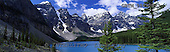 Tom Mackie, LANDSCAPES, panoramic, photos, Moraine Lake, Banff National Park, Alberta, Canada, GBTM980908-3,#L#