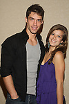 Kelley Missal and David Gregory at The One Life To Live Lucheon at the Hemsley Hotel in New York City, New York on October 9, 2010. (Photo by Sue Coflin/Max Photos)