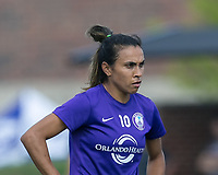 Boston, MA - Saturday August 19, 2017: Marta Vieira Da Silva during a regular season National Women's Soccer League (NWSL) match between the Boston Breakers (blue) and the Orlando Pride (white/light blue) at Jordan Field. Orlando Pride defeated Boston Breakers, 2-1.