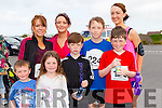 Shane Culloty, Kay Griffin, Leah Culloty, Helen O'Shea, Corey O'Shea, Oisin Murray, Dylan Griffin and Denise Shanahan, pictured at the Blennerville 10k run on Sunday morning last.