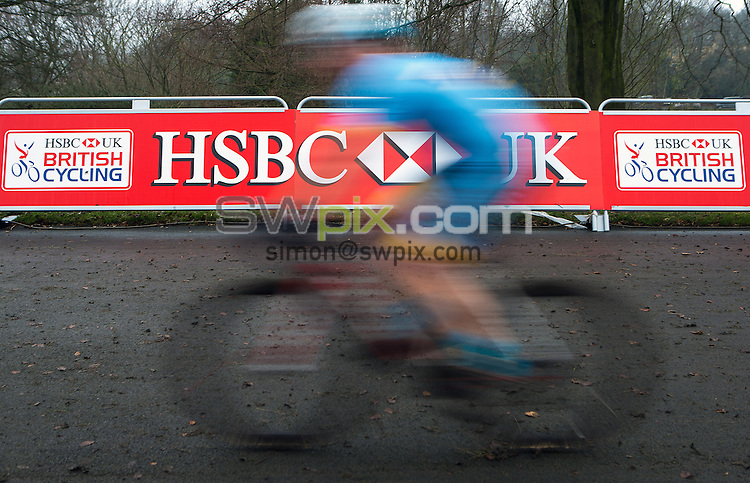 Picture by Alex Whitehead/SWpix.com - 08/01/2017 - Cycling - HSBC UK National Cyclo-Cross Championships - Peel Park, Bradford, England.