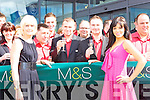Miss Kerry Helena Hambridge (right) and Ciara O'Kelly store manager cut the tape to officially open Marks and Spencers store in Killarney on Friday   Copyright Kerry's Eye 2008
