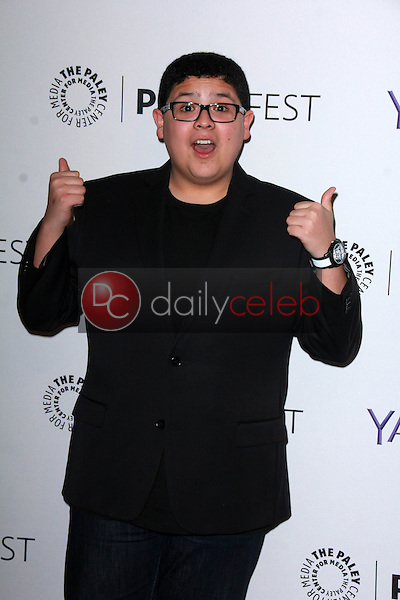 """Rico Rodriguez<br /> at """"Modern Family"""" at PaleyFEST 2015, Dolby Theater, Hollywood, CA 03-14-15<br /> David Edwards/DailyCeleb.Com 818-249-4998"""