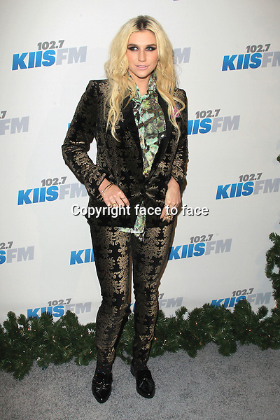 Ke$ha at day 2 of KIIS FM's 2012 Jingle Ball at Nokia Theatre L.A., Los Angeles, California, 03.03.2012...Credit: MediaPunch/face to face..- Germany, Austria, Switzerland, Eastern Europe, Australia, UK, USA, Taiwan, Singapore, China, Malaysia and Thailand rights only -