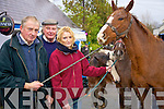 Pictured at the fair in Athea on Saturday were Laura Woods, Maurice. Breen, Ballyhahill and Pat O' Sullivan Carrigkerry.     Copyright Kerry's Eye 2008