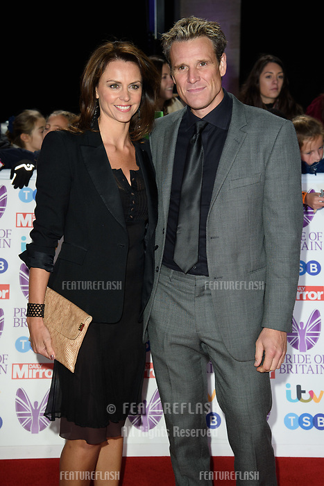 LONDON, UK. October 29, 2018: Beverley Turner & James Cracknell at the Pride of Britain Awards 2018 at the Grosvenor House Hotel, London.<br /> Picture: Steve Vas/Featureflash