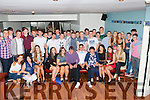 Michael Foley Muckross seated centre who celebrated his 18th birthday with his family and friends in McSorley's nightclub on Saturday night