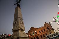 Place d'armes Piazza d'armi Monumento. 1st November Square