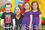 ICE CREAM: Having fun at the Ice Cream Party in of Down Syndrome Ireland at the Earl of Desmond hotel on Sunday l-r: James and Michelle Roche and twins Katelyn and Jennifer Brosnan from Tralee.