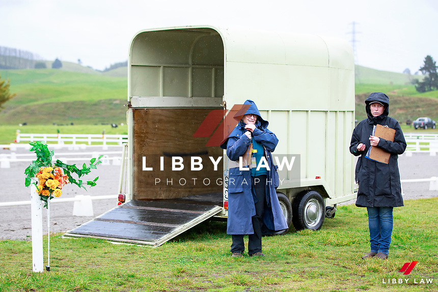 Ready for the 1st Horse Inspection at the 2017 NZL-NRM National Three Day Event Championships. National Equestrian Center, Taupo. Thursday 11 May. Copyright Photo: Libby Law Photography