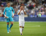 England's Adam Lallana looks on dejected during the Friendly match at Stade De France Stadium, Paris Picture date 13th June 2017. Picture credit should read: David Klein/Sportimage