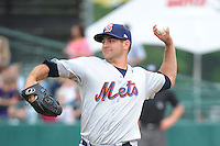 Binghamton Mets pitcher Mark Cohoon (11) during game against the New Britain Rock Cats at New Britain Stadium on May 23 2013 in New Britain, Connecticut.  New Britain defeated Binghamton 1-0.  Tomasso DeRosa/Four Seam Images