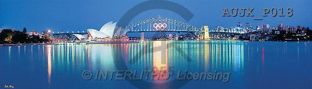 Dr. Xiong, LANDSCAPES, panoramic, photos, Sydney Harbour, Australia(AUJXP018,#L#)