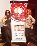 As The World Turns Anne Sayre and Christine Nagy - Lite FM 106.7 The Bronson and Christine Show - attend the Montclair Film Festival on May 7, 2016 in Montclair, New Jersey.  (Photo by Sue Coflin/Max Photos)