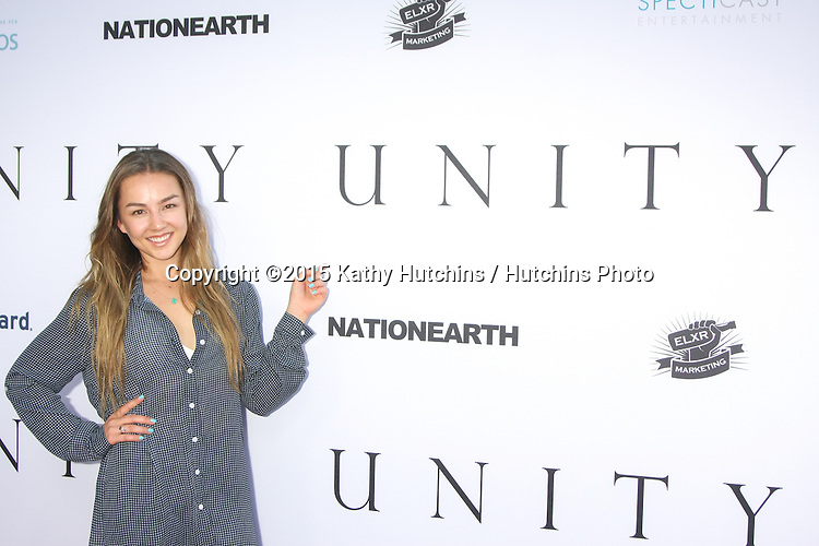 """LOS ANGELES - JUN 24:  Lexi Ainsworth at the """"Unity"""" Documentary World Premeire at the Director's Guild of America on June 24, 2015 in Los Angeles, CA"""