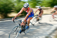 30 MAY 2009 - MADRID,ESP - Victorio Pintanel Lobaco - Spanish Triathlon Championships (PHOTO (C) NIGEL FARROW)