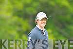 Rory McIlroy shares a joke with the crowd at the Irish Open in Killarney on Friday..................