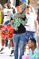 LOS ANGELES, CA - JUNE 30: Lil Pump at the PrettyLittleThing X Ashanti Launch event at the Hollywood Roosevelt Hotel in Los Angeles, California on June 30, 2019. <br /> CAP/MPI/WG<br /> ©WG/MPI/Capital Pictures