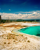 USA, Wyoming, beautiful thermal pool in the West Thumb Geyser Basin, Yellowstone National Park