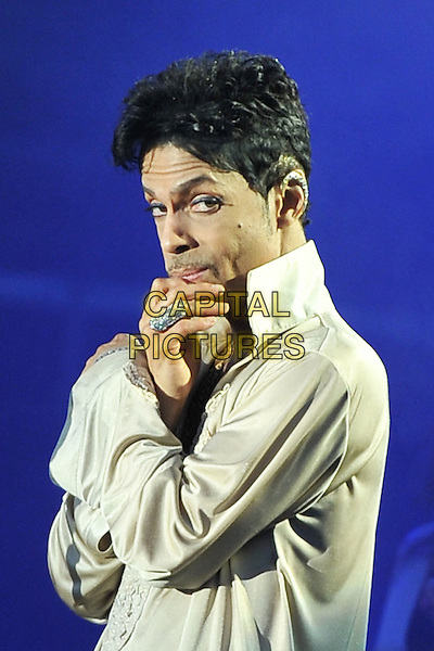 Prince (Prince Rogers Nelson).'The Artist Formerly Known as Prince', 'TAFKAP'.Hop Farm Festival, Paddock Wood, Kent, England 3rd July 2011.performing live on stage in concert gig singing playing.CAP/MAR.© Martin Harris/Capital Pictures...
