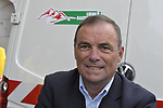 Legendary cyclist Bernard Hinault (FRA) at the start of the 95th running of Liege-Bastogne-Liege cycle race, 26th April 2009 (Photo by Eoin Clarke/NEWSFILE)
