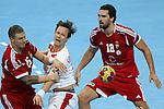 Zubai, Sondergaard & Kornel Nagy. DENMARK vs HUNGARY: 28-26 - Quarterfinal.