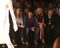MIAMI, FL - MAY 31: Nicole Kimpel, Antonio Banderas, Valeria Mazza and Alejandro Gravier are sighted at the Rene Ruiz Fashion Show during Miami Fashion Week at the Ice Palace Studios on May 31, 2018 in Miami Florida. <br /> CAP/MPI04<br /> &copy;MPI04/Capital Pictures